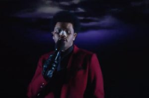 The Weeknd's 'Jimmy Kimmel' Performance Of 'Blinding Lights': Watch